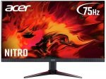 "Acer Nitro KG272Ubmiipx 27"" QHD 1ms 75Hz IPS Gaming Monitor"