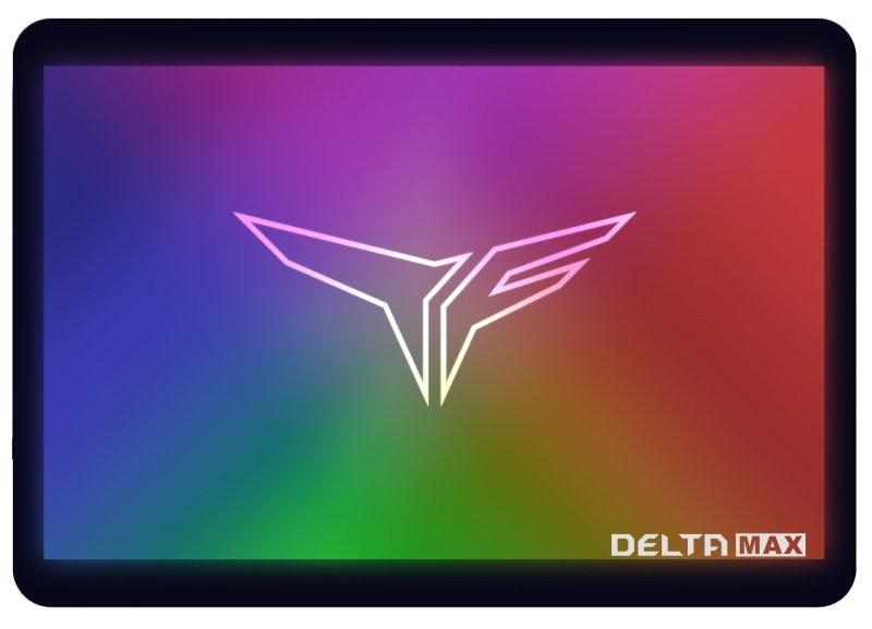 """Team T-Force Delta Max RGB 500GB 2.5"""" Internal SSD"""