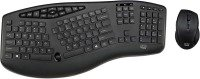 Adesso Truform Wireless Ergonomic - Keyboard And Optical Mouse