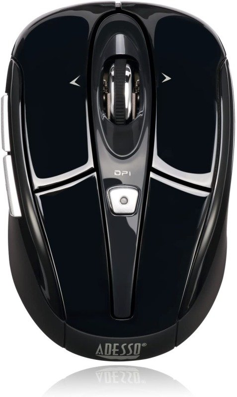 Adesso iMouse S60B 2.4GHz Wireless Programmable Nano Mouse