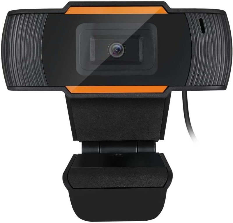 Adesso CyberTrack H2 480P USB Webcam with Built-In Microphone