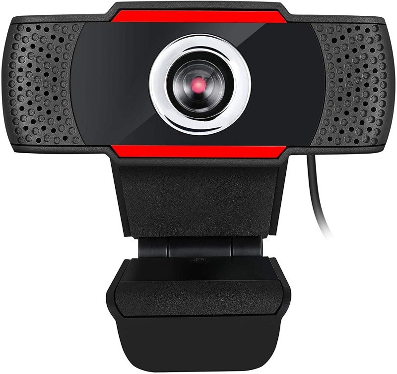 Adesso CyberTrack H3 720P HD USB Webcam with Integrated Microphone