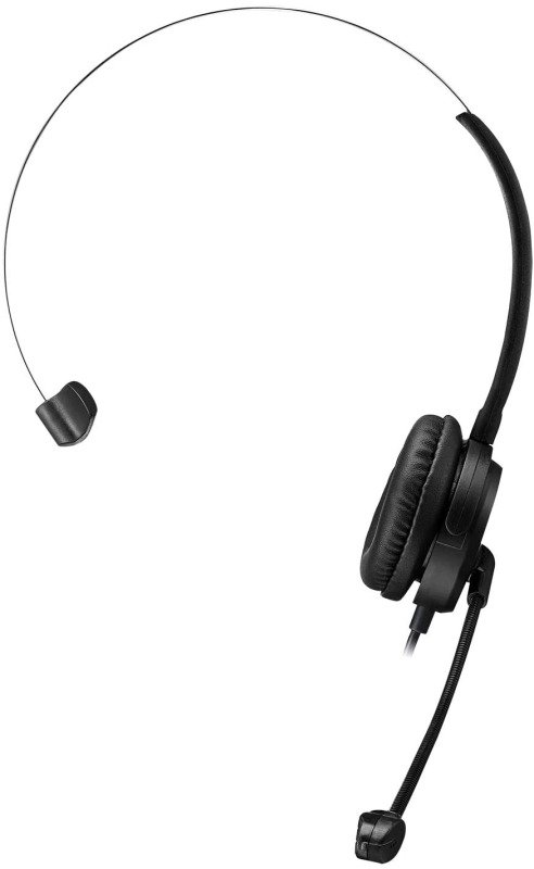 Adesso Xtream P1 Single-Sided USB Wired Headset with Adjustable Noise-Canceling Microphone