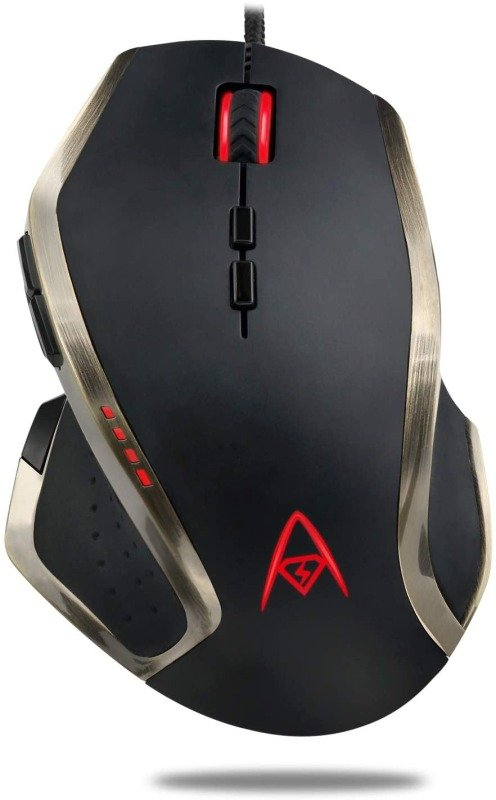 Adesso iMouse X3 Multi-Color 9-Button Programmable Gaming Mouse
