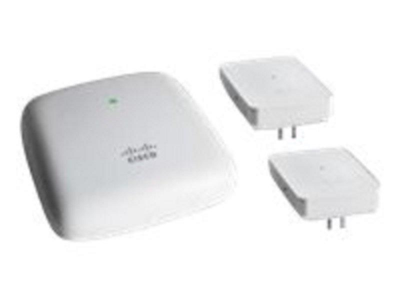 Cisco Business 140AC - Mesh Starter Kit - Radio Access Point - 2 x Cisco Business 142ACM Mesh Extend