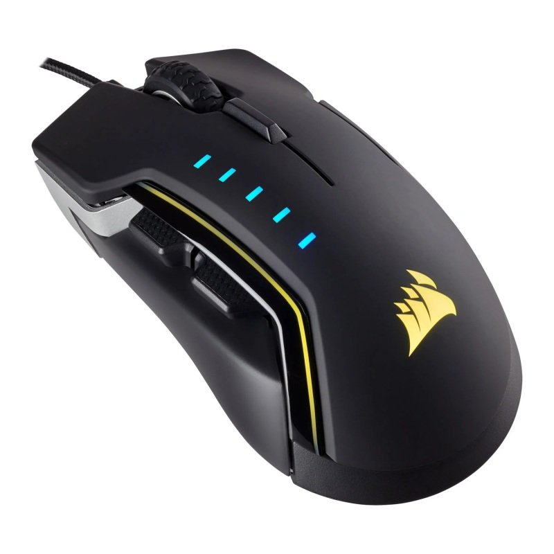 GLAIVE PRO RGB Gaming Mouse Aluminium - Refurbished by Corsair