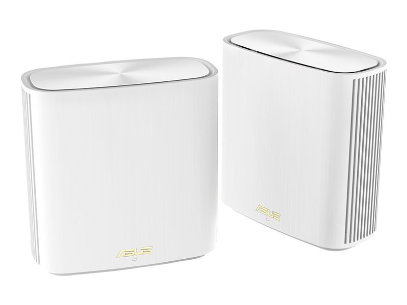 ASUS ZenWiFi XD6 - AX5400 Dual-band Mesh WiFi 6 System - 2 Pack White