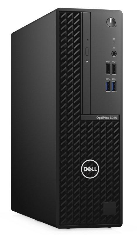 Image of Dell OptiPlex 3000 3080 Desktop Computer - Intel Core i5 10th Gen i5-10505 Hexa-core (6 Core) 3.20 GHz - 8 GB RAM 256 GB M.2 PCI Express NVMe SSD - SFF - Black - Intel B460 Chip Windows 10 Pro 64-bit