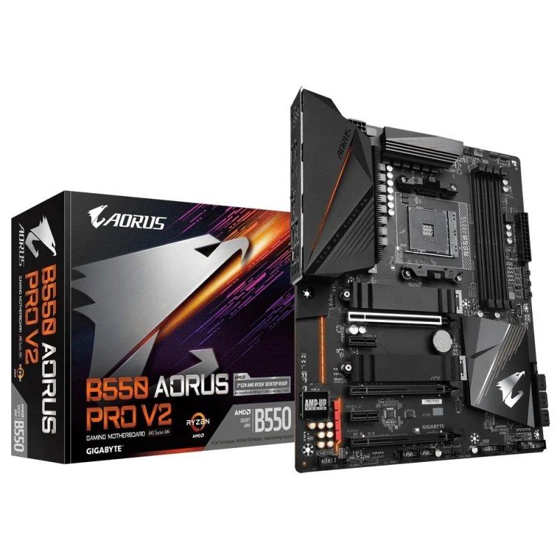 Exdisplay Gigabyte B550 Aorus Pro V2 Atx Motherboard