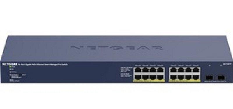 NETGEAR GS716TP - 16-port Gigabit Ethernet PoE+ Smart Managed Pro Switch