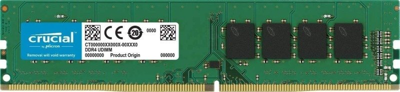 Crucial 16GB (1x 16GB) 3200MHz DDR4 Ram