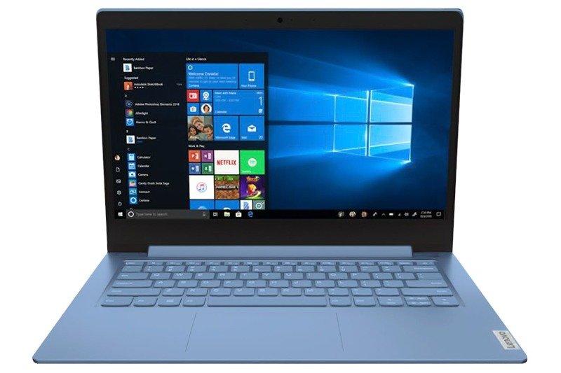 Lenovo IdeaPad 1 AMD 3020e 4GB 64GB eMMC 14 HD Win10 Home S Ice Blue Laptop