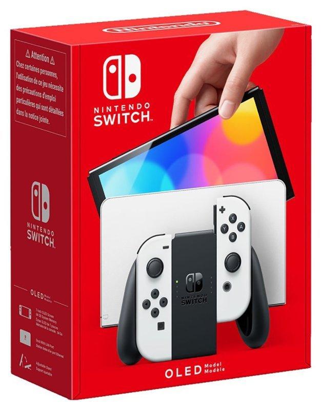 Nintendo Switch OLED Console - White