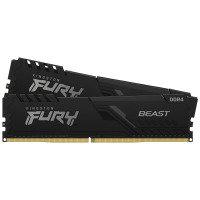 Kingston FURY Beast 32GB (2 x 16GB) 3600MHz DDR4 RAM - Black