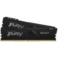 Kingston FURY Beast 16GB (2 x 8GB) 3600MHz DDR4 RAM - Black