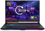 £1687.35, EXDISPLAY Asus ROG Strix G17 Ryzen 9 16GB 1TB SSD RTX 3070 17.3inch Win10 Home Gaming Laptop, AMD Ryzen 9-5900HX 3.1GHz, 16GB RAM + 1TB SSD, 17.3inch QHD 165Hz Display, NVIDIA GeForce RTX 3070 8GB, Windows 10 Home,