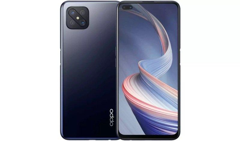 """OPPO Reno4 Z 5G 6.57"""" 128GB Smartphone - Black"""