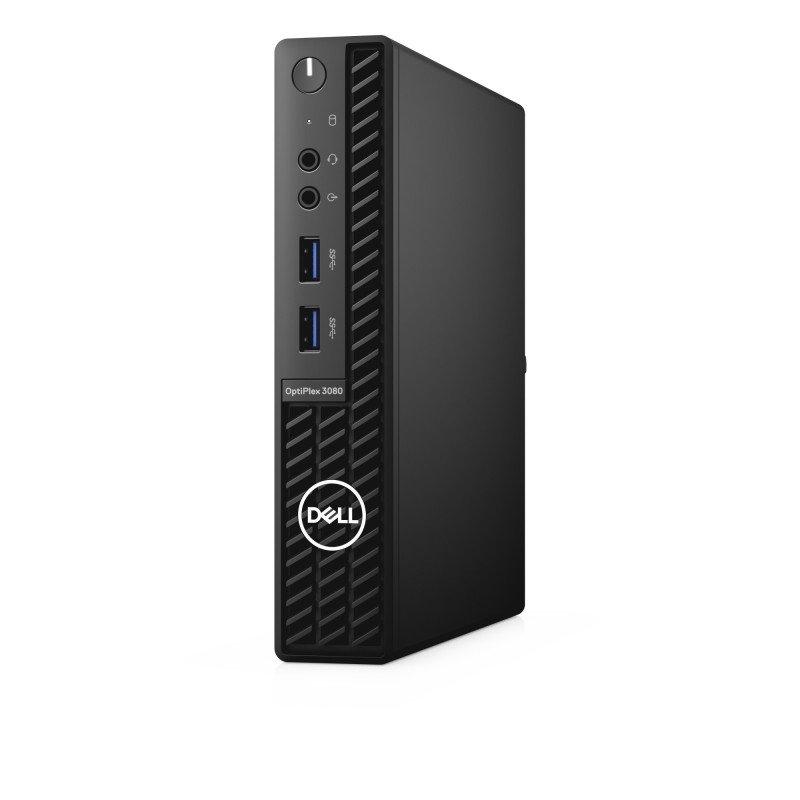 Dell OptiPlex 3080 MFF Core i3 10th Gen 8GB RAM 256GB SSD Win10 Pro Desktop PC