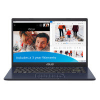 "ASUS E410 Celeron N4020 4GB 64GB eMMC 14"" FHD Win10 Pro Laptop"
