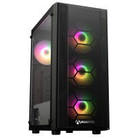 AlphaSync AMD Ryzen 5 5600G 8GB RAM 500GB SSD Windows 10 Home Gaming Desktop PC