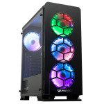 AlphaSync AMD Ryzen 5 5600G 16GB RAM 1TB HDD 500GB SSD Windows 10 Home Gaming Desktop PC
