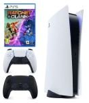 Sony PlayStation 5 Console with Extra Midnight Black DualSense Controller & Ratchet & Clank: Rift Apart