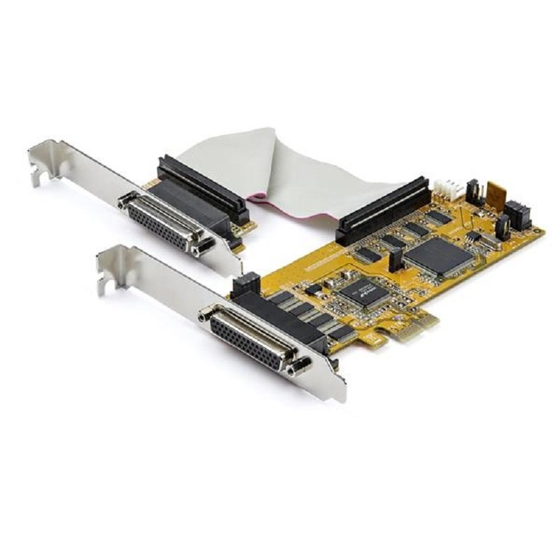 StarTech.com 8-Port PCI Express RS232 Serial Adapter Card - PCIe RS232 Serial Card
