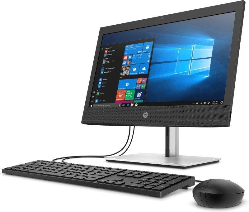 HP ProOne 10th gen Intel Core i5 8 GB RAM 256 GB SSD Windows 10 Home Wi-Fi 6 (802.11ax) Black