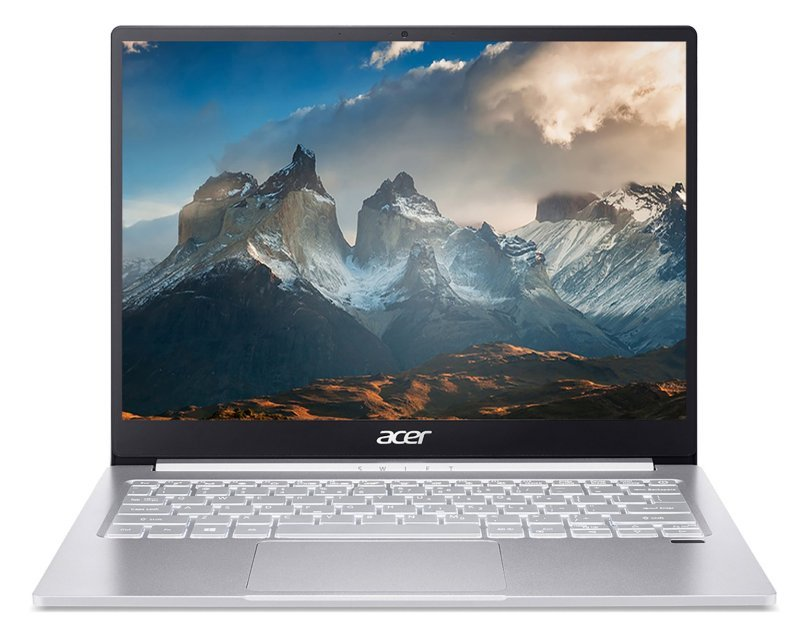 """Image of Acer Swift 3 Core i5 8GB 512GB SSD 13.5"""" QHD Display Win10 Home Laptop"""