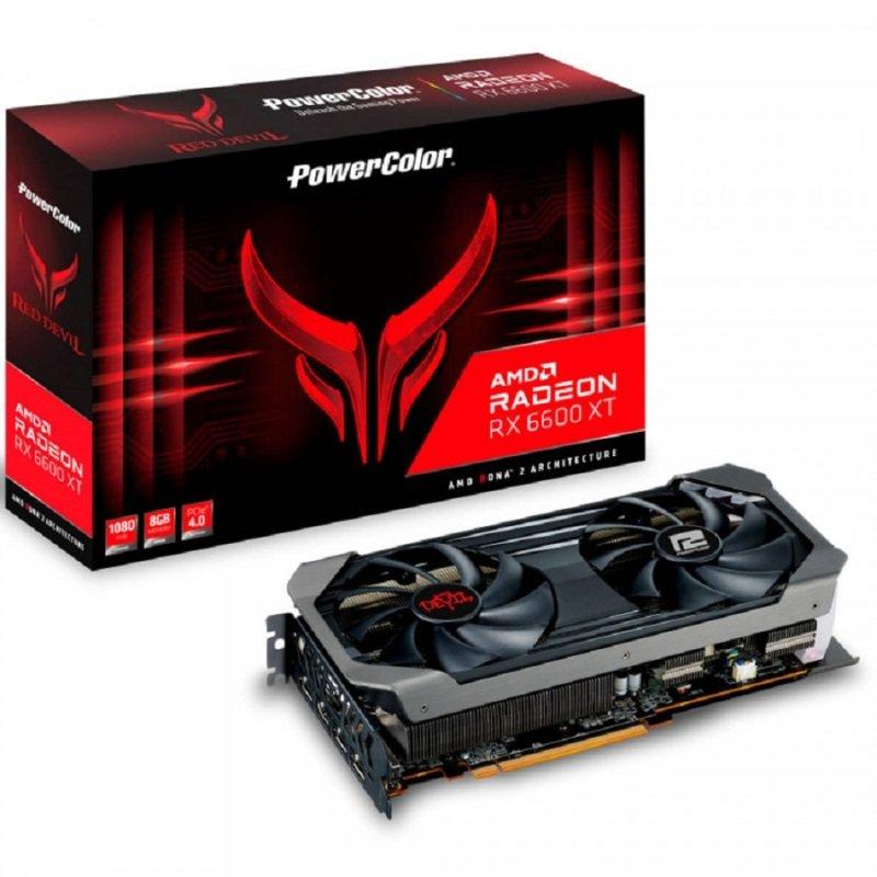 PowerColor Radeon RX 6600 XT 8GB Red Devil Graphics Card