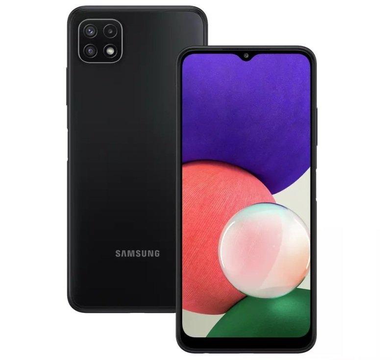 """Samsung Galaxy A22 6.6"""" 64GB 5G Smartphone - Grey"""