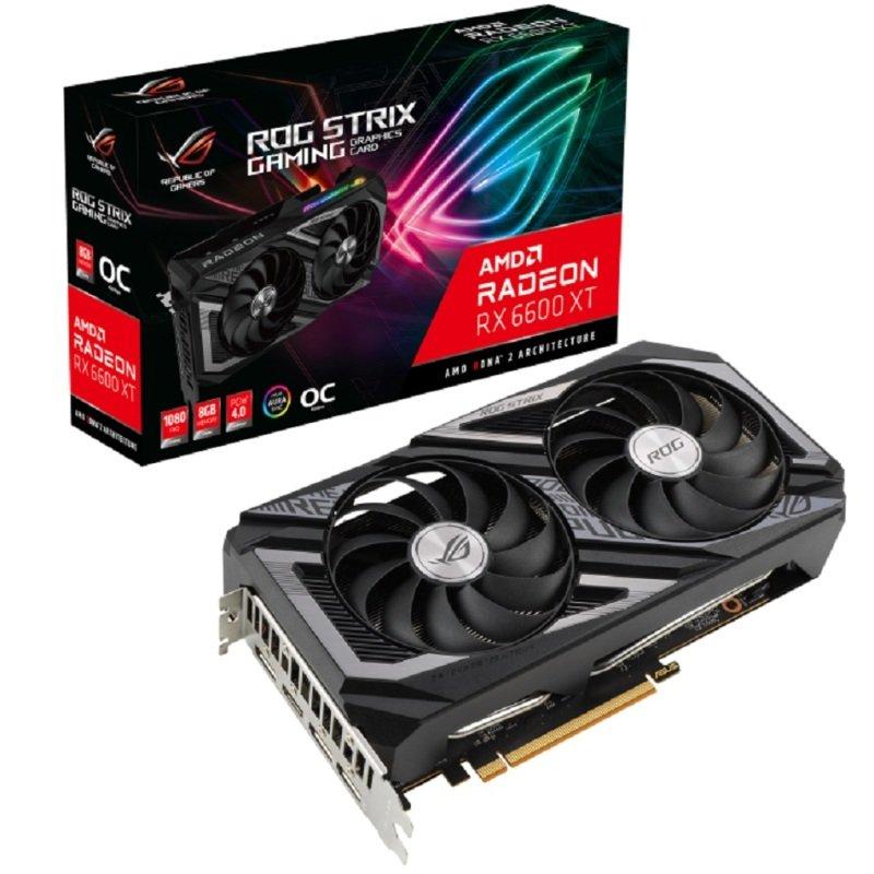 ASUS Radeon RX 6600XT 8GB ROG STRIX OC Graphics Card