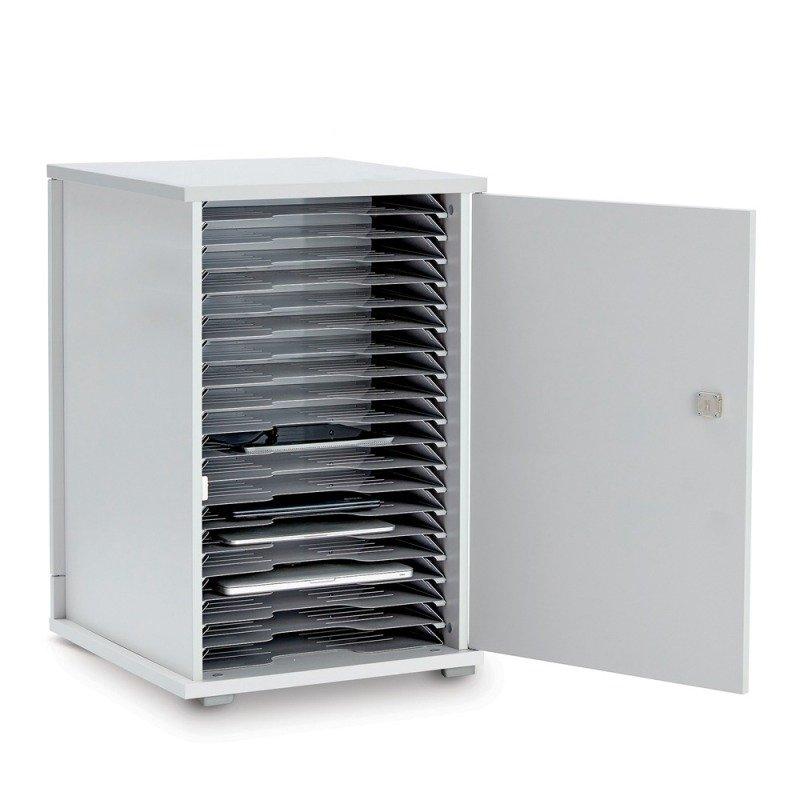 Lyte Single Door 20 Metal Shelf Static Unit