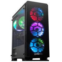 AlphaSync RX 6600XT AMD Ryzen 7 16GB RAM 1TB HDD 480GB SSD Gaming Desktop PC