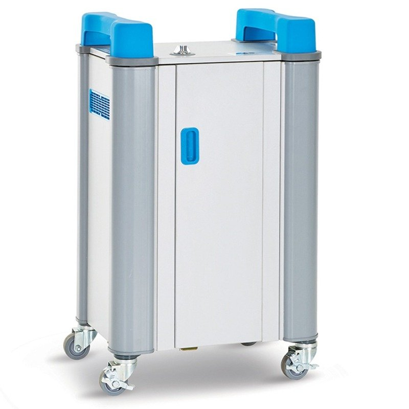 TabCabby 16-Device Mobile USB Charge & Sync Trolley