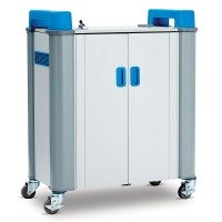 TabCabby 32-Device Mobile AC Charging Trolley