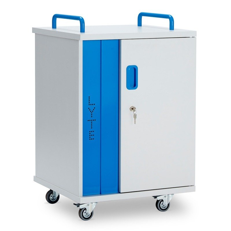 LapCabby10-Device Mobile AC Charging Cabinet