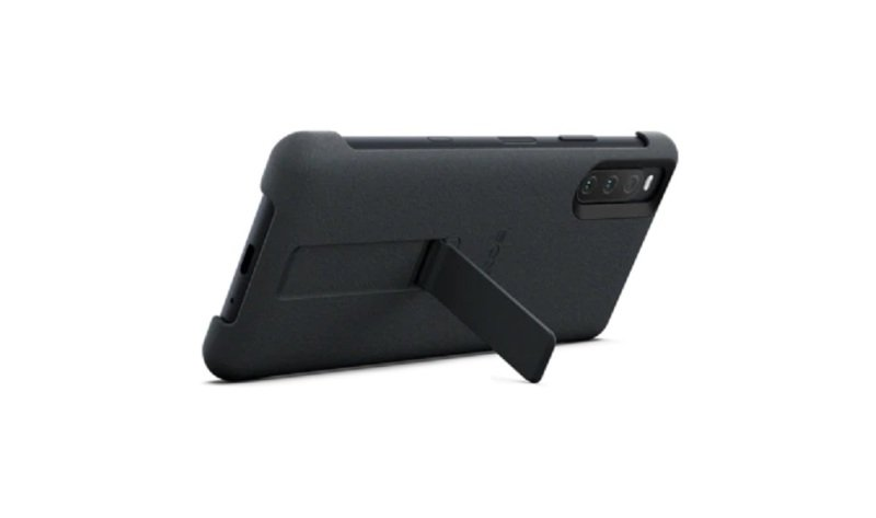 Sony Xperia 10 III Cover Stand Style Case - Black