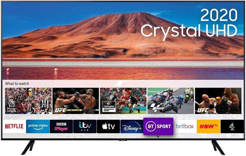 "Samsung UE43TU7092 43"" 4K Ultra HD Smart TV"