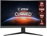 "MSI Optix G24C6 23.6"" Full HD Curved 1ms 144Hz FreeSync Gaming Monitor"