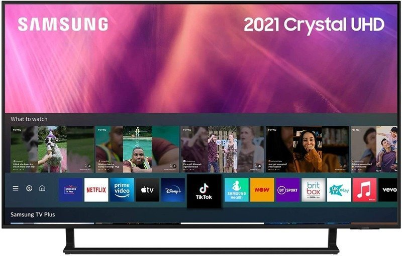 """Samsung UE43AU9002 43"""" Crystal UHD 4K Smart TV"""