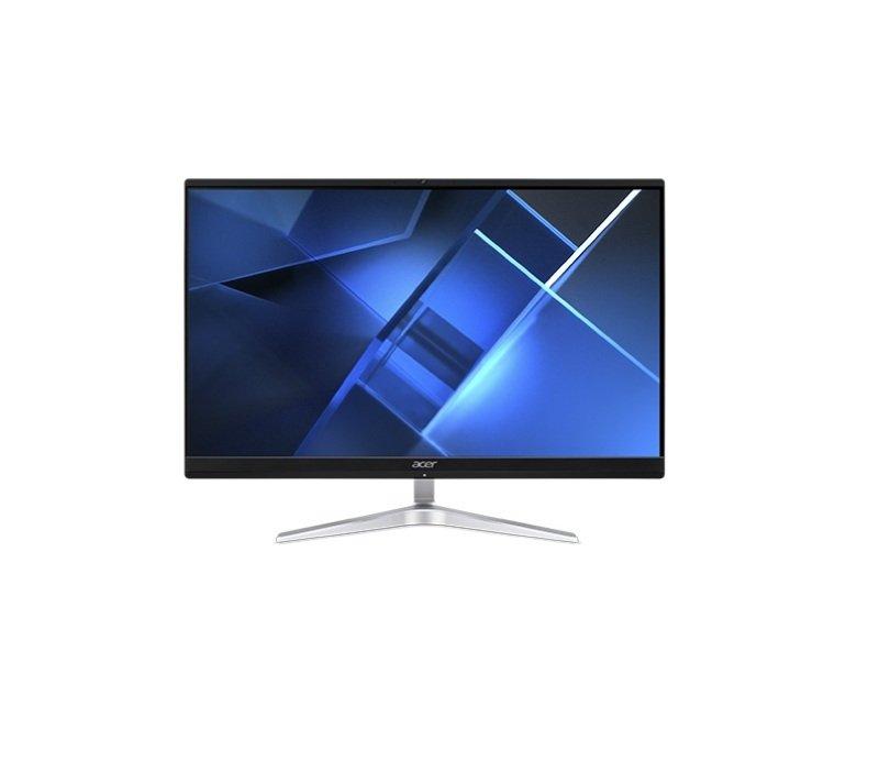 "Acer Veriton VEZ2740G 60.5 cm (23.8"") 1920 x 1080 pixels 11th gen Intel Core i5 8 GB DDR4-SDRAM 256 GB SSD All-in-One PC Windows 10 Pro Wi-Fi 6 (802.11ax) Silver"