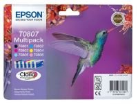 Epson T0807 Multipack Ink Cartridge