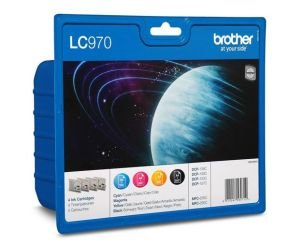 Brother LC 970VALBP Colour Ink Cartridge