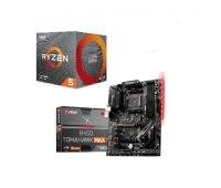 MSI B450 TOMAHAWK MAX II ATX Motherboard + AMD Ryzen 5 3600XT Processor Bundle