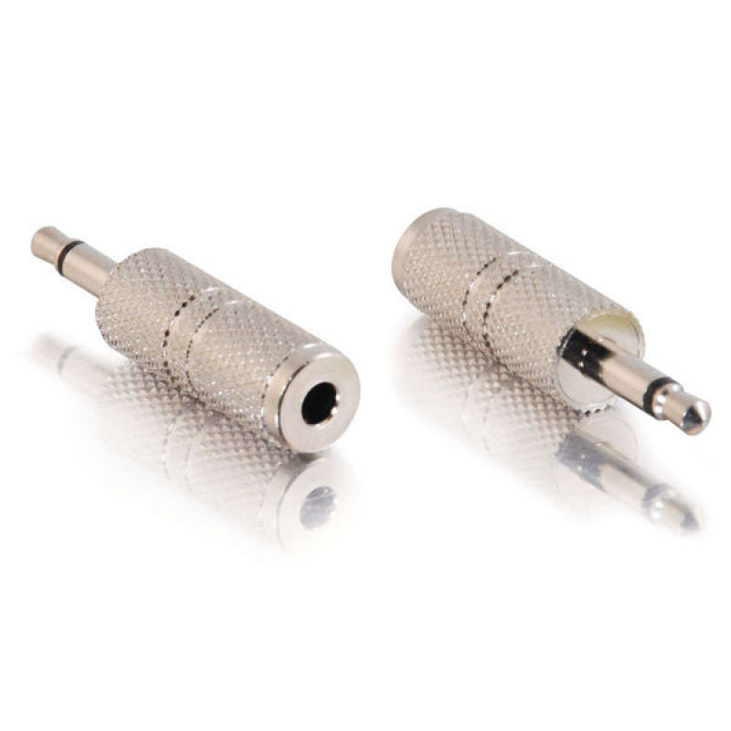 C2G, 3.5mm Mono Male to 3.5mm Stereo Female Adapter