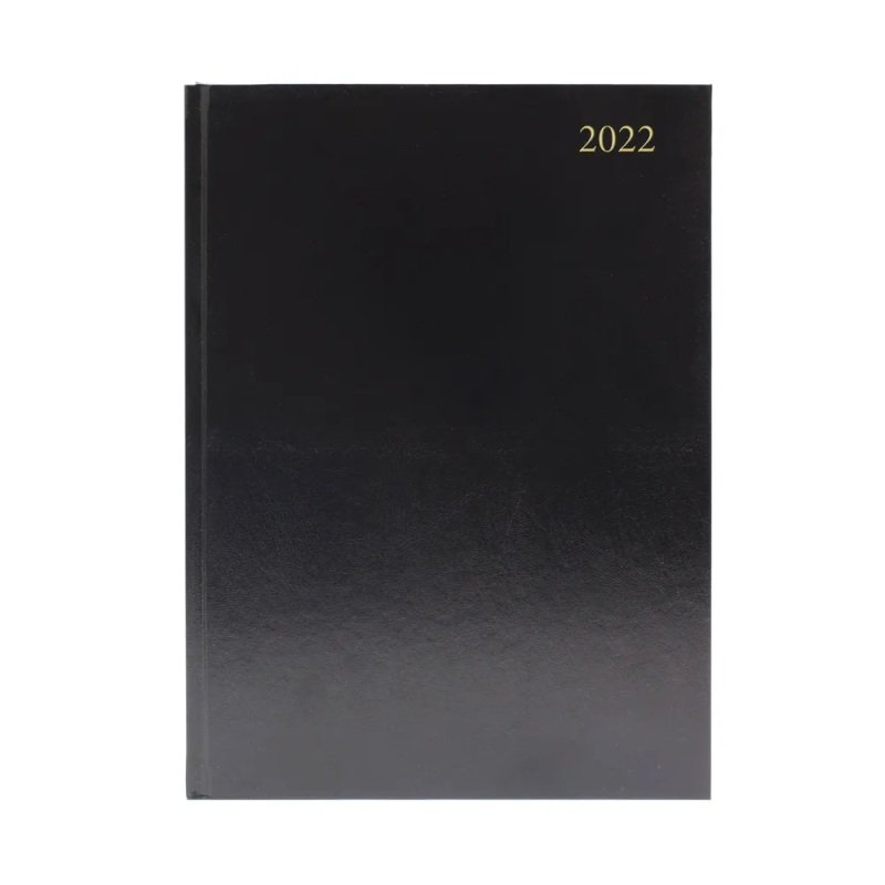 Desk Diary Wtv A4 Black 2022