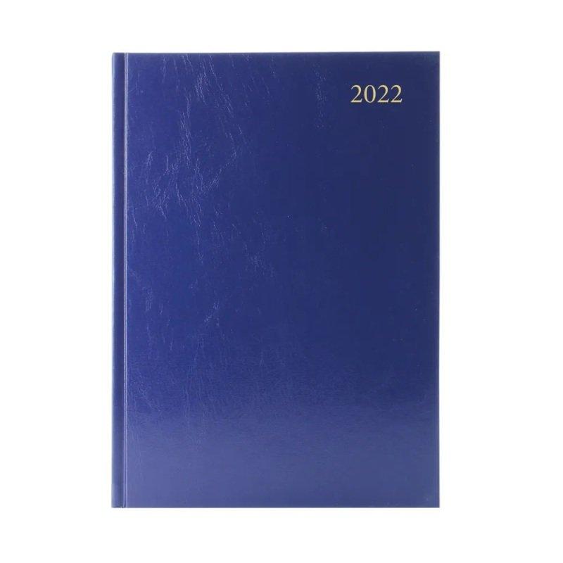 Desk Diary Dpp Appt A5 Blue 2022