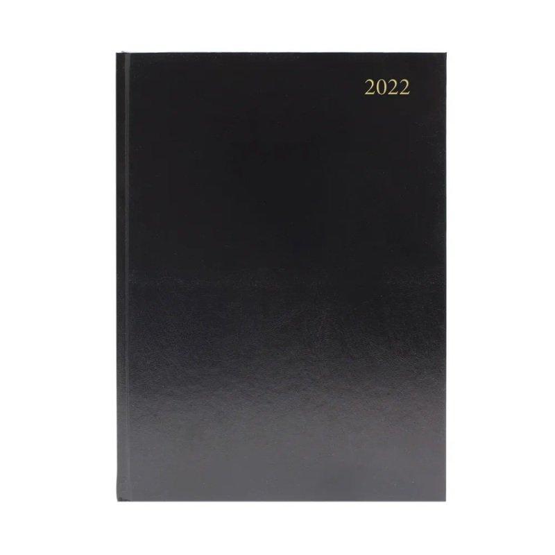 Desk Diary Dpp A5 Black 2022