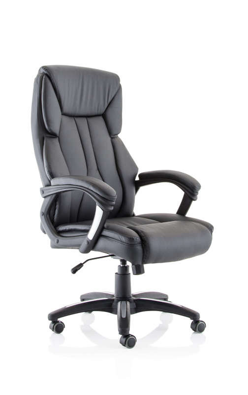 Stratford High Back Leather Look Chair